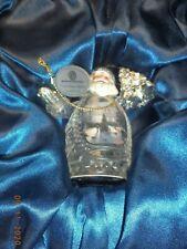 Thomas Kinkade Santa Claus Joy to the World Crystal Ornament 2014