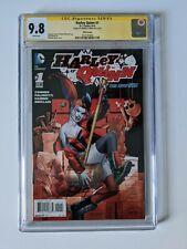 Harley Quinn #1 signed by Amanda Conner CGC 9.8