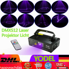 DMX512 Laser Projektor Licht Lasereffekt Stage Show Disco Party Lighting Lamp