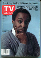 TV Guide Sept. 15-21, 1979 Robert Guillaume Benson VG NO ML 121715jhe