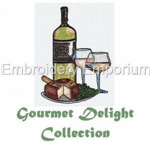 GOUMET DELIGHT COLLECTION - MACHINE EMBROIDERY DESIGNS ON CD OR USB