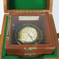 1940's Era Hamilton Chronometer Watch Model 22 Hamilton Clock