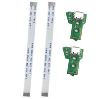 2x USB Charging Port Socket Board JDS-055 for SONY PS4 Controller + 12 Pin Cable