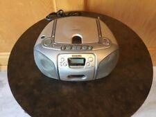Aiwa Radio Boom box Am/fm Cd Player Tape Player Portable Model CSD-ED27