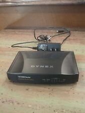 Dynex DX-E402 4-Port 10/100 Wired Router with Power Cord