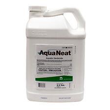 Aquatic Herbicide Aqua Neat Herbicide for Lakes Ponds Glyphosate 2.5 Gallons