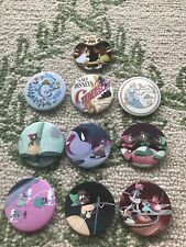 Disney Loungefly Cinderella 70th Anniversary Ten Button Set New 10 Buttons