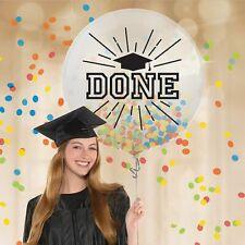 Graduation Large Confetti Latex Balloon (1) ~ Graduation Party Supplies Helium