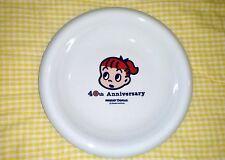 Rare 40th Anniversary MISTER DONUT Dish Red Head Girl Plate Bowl Osamu Harada