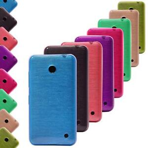 Nokia Lumia 930 Schutzhülle Silikon TPU Handyhülle Cover Case Hülle Metallic
