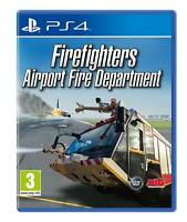 Firefighters Airport Fire Department Playstation 4 PS4 **FREE UK POSTAGE!!**