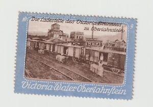 Germany- Victoria Water Oberlahnflein -Railway yards Poster stamp clean NO gum