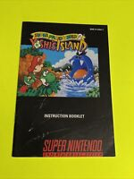 SUPER MARIO WORLD 2 - Instruction Booklet Manual Original SNES SUPER NINTENDO