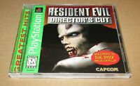 Resident Evil Director's Cut for Playstation PS1 Complete Fast Shipping!
