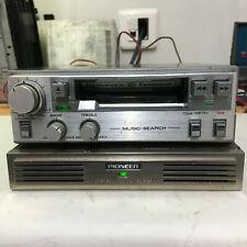 Pioneer Component Cassette Deck Vintage  KP-212G+GM-4