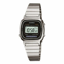 CASIO LA-670WA-1JF Digital Silver for Women Stainless Retro from Japan