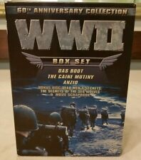 Wwii 60th Anniversary Dvd Collection (Das Boot/Anzio) Documentary 2 - Vg