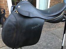 """Farrington 17"""" Black Saddle"""