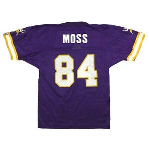 Vtg Minnesota Vikings Youth Jersey Randy Moss #84 Champion NFL Football Kids M