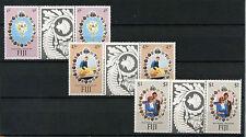 Fiji 1981 SG#612-4 Royal Wedding MNH Gutter Pairs Set #R106