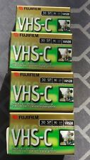 (7) Fuji Film Vhs-C 30 min. Sp Mode 90 min. Ep Mode Camcorder Tape