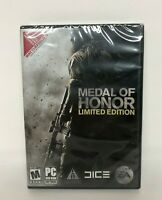 Medal of Honor Limited Edition PC Game USA Made 2010 Brand New Sealed
