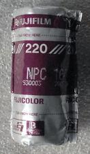 FUJIFILM FUJICOLOR NPC 160 220 film UNUSED 2005-10 expire ISO 160 refrigerated