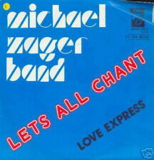 MICHAEL ZAGER BAND 45 TOURS BELGIQUE LETS ALL CHANT