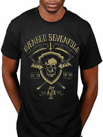 Official Avenged Sevenfold Shield And Sickle T-Shirt A7X City Of Evil Nightmare