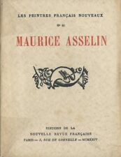 EO N° PUR FIL FRANCIS CARCO + ÉPREUVE SIGNÉE PAR G. AUBERT : MAURICE ASSELIN