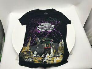 Monster Jam World Finals Las Vegas Monster Truck Shirt Children's XL