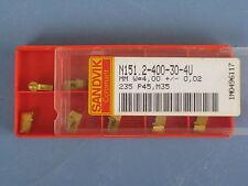 10 Stechplatten      N151.2-400-30-4U      235      Sandvik         3334