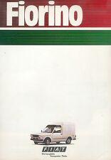 FIAT FIORINO PROSPEKT 10/82 SALES BROCHURE 1982 auto PKW opuscolo ITALIA ITALY