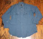 Southeastern French Blue Code 9 Long Sleeve EMT Police Shirt Size 17.5-33 NEW