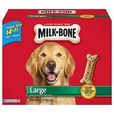 Milk-Bone Large Dog Biscuits; Dry Dog Food; Dog Treat - 14 lbs NEW NEW NEW NEW