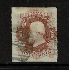 Brazil SC# 62, Used, minor creasing, Hinge Remnants - S11138