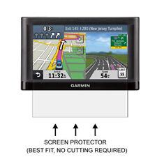 3x Garmin Nuvi 52 52LT 52LM 52LMT GPS Clear LCD Screen Protector Shield Film 5''