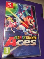 Nintendo Switch 1x Mario Tennis Aces - NEW REPLACEMENT Case - Display Box