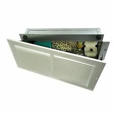 Hidden Wall Safe Air Vent Grille Hide Money Gun Secret Stash Jewelry Secure Box