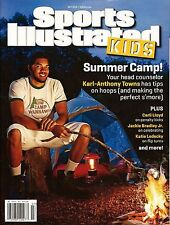 New Sports Illustrated Kids karl Anthony Towns Timberwolves No Label + Cards