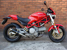 Ducati Monster 620 01-06 SP Engineering Carbon Fibre Stubby Moto GP Exhausts