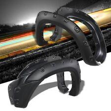 """Matte Black ABS Pocket-Riveted T2 Wheel Fender Flares For 12-15 Tacoma 73.5"""" Bed"""