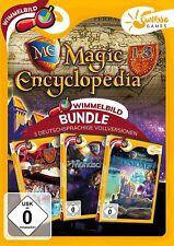 Magic Encyclopedia 1-3 Sunrise Games PC Spiel Wimmelbild Neu & OVP