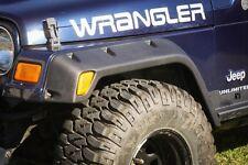 "Fender Flares 4.75"" 1997 through 2000 Jeep Wrangler TJ Rugged Ridge 11630.20"