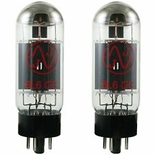 JJ Electronics 6L6GC Matched Amp Tubes