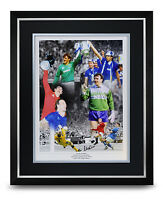 Neville Southall Signed Photo Large Framed Display Everton Autograph Memorabilia