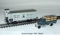 Märklin - Museum Vehicle - Set 1996 - Boxcar with Brakeman New