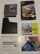 Millipede Nintendo Entertainment System, 1988 Complete Clean. Collectible Nes