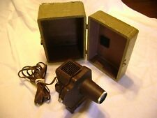 VIEW MASTER PROJECTOR, WORKING, WITH TRAVEL CASE
