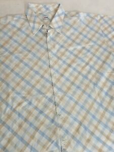 SIZE  6XL ~MENS SHORT SLEEVE CASUAL VINTAGE SHIRT ~~TARGET